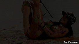 Romi Rain Lesbian Body...