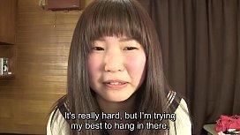Subtitled Japanese schoolgirl pee desperation game in HD tumview