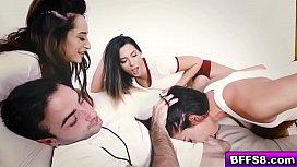 Twerking babes go crazy...