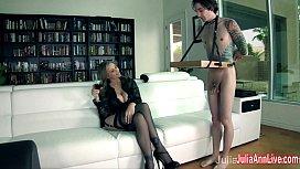 Julia Ann Demands Her...