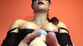 Mistress Scolding her Piggy...