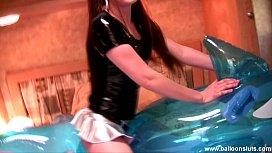 Megan Inflatable Toy Masturbation...