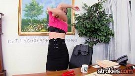 Sexy Secretary Nikki Daniels...