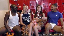 Cheerleader Jojo Kiss and...