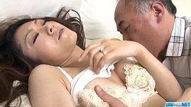 Ruri Hayami enjoys her...