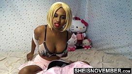 Busty African American Girl...