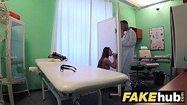 Fake Hospital Tall brunette...