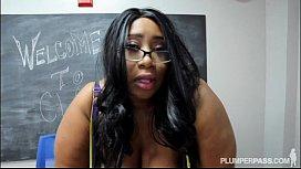 Busty Black BBW Teacher...