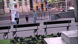 Extreme public street sex...