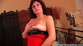 Grandma with big tits...