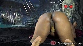 Halloween Masturbation : Nilou Achtland...