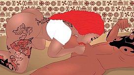 Thebodyxxx Pinky cherokeedass cartoon...