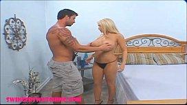 Swingers husband shares huge...