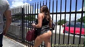 Round booty latina rides...