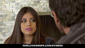 FamilyHookUps - Teen Gets Titty...