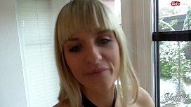 20 SECONDS CUMSHOT On Blonde German