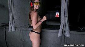 Remy LaCroix Shooting Guns...