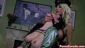 Puma Swede Gives Spanking...