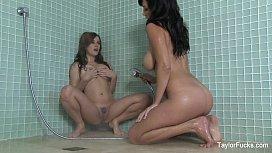 Taylor Vixen Lesbian Shower...
