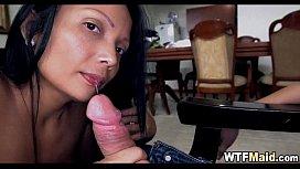 Amateur Latina Maid 009...