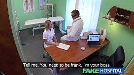 FakeHospital Naughty blonde nurse...
