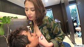 JAV hair salon audacious blowjob Ian Hanasaki Subtitled