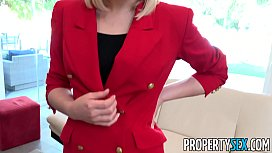 PropertySex - Red blazer agent...