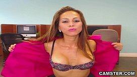 Latina alone and horny...