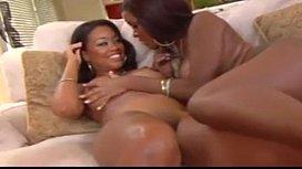 Two Hot Ebony Lesbians...