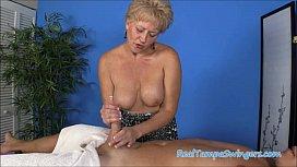 Tracy's Hand Job...