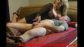 My milf mom getting...