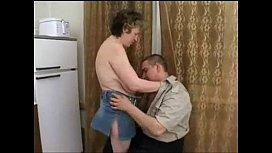 Mature russian seduces fat...