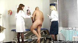 Two hot nurses giving...