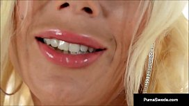 Busty Blonde Puma Swede...