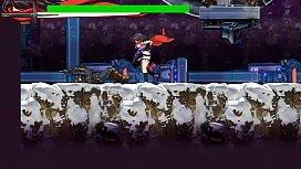 Scrider Asuka - hentai action game stage 2