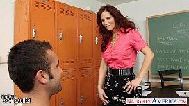 Redhead sex teacher Syren...
