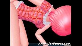 3D Teens Get Creampied...