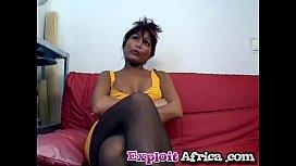 African ebony blowjob riding...