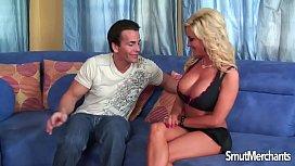 Sexy blonde pornstar MILF...