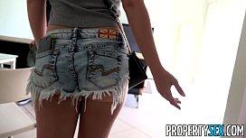 PropertySex - Horny blonde cheats...