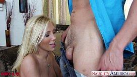 Busty blonde Tasha Reign...
