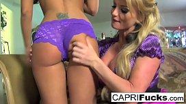Capri Cavanni and Taylor...