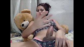 Stunning Latina Teen Tranny...
