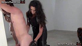 Mistress Tangent harsh whipping...