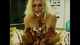Messy in Kitchen Granny...