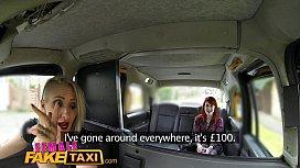 Female Fake Taxi Lesbian...