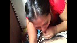 Noida Teen Girlfriend Giving...