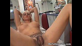 MyTattooGirls - Alira Astro Pussy...