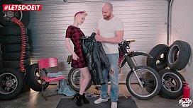 LETSDOEIT - Blonde Teen Rides...