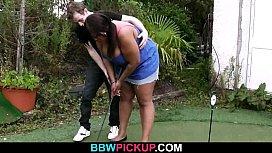 Slim white guy nails huge black fattie from behind mariya babko